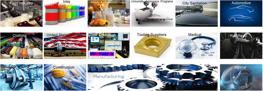 We Service the Following Industries